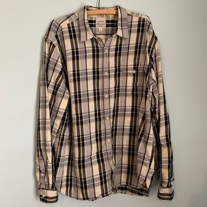 Lucky Brand California Fit Long Sleeve Plaid shirt